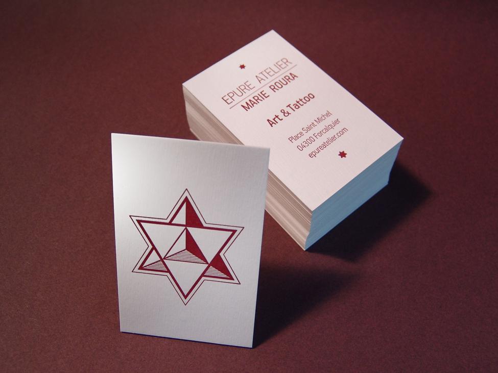 cartes Epure Atelier